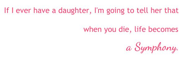 if i ever have a daughter