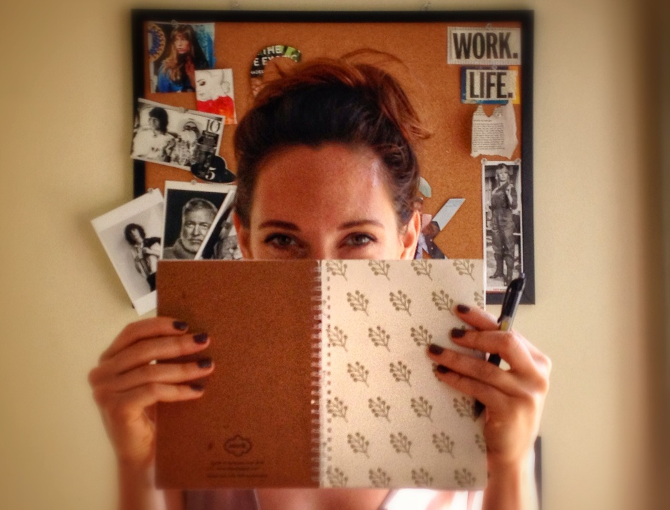 personal notebooks to increase productivity, motivation and inspiration