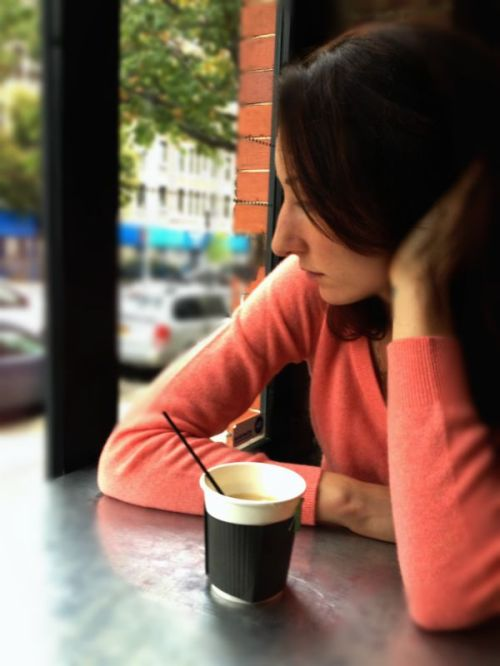 new york coffee shop, depression, health, well-being, depression for women