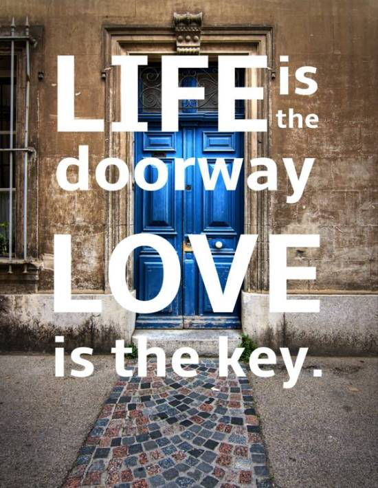Love doorway