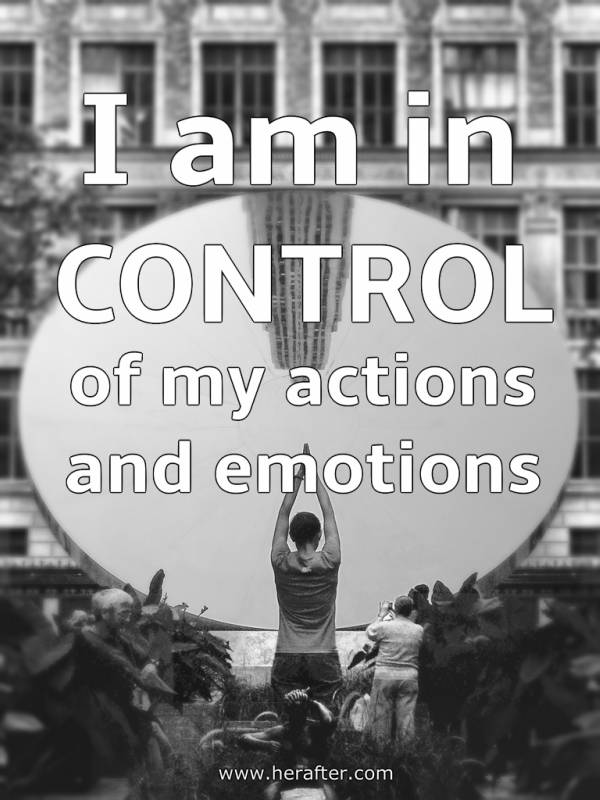 mantras for self control and emotional stability