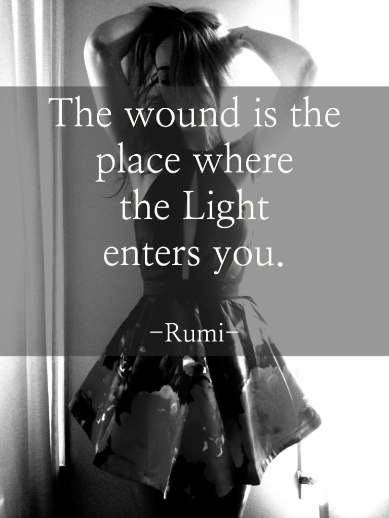inspiring quote by poet rumi