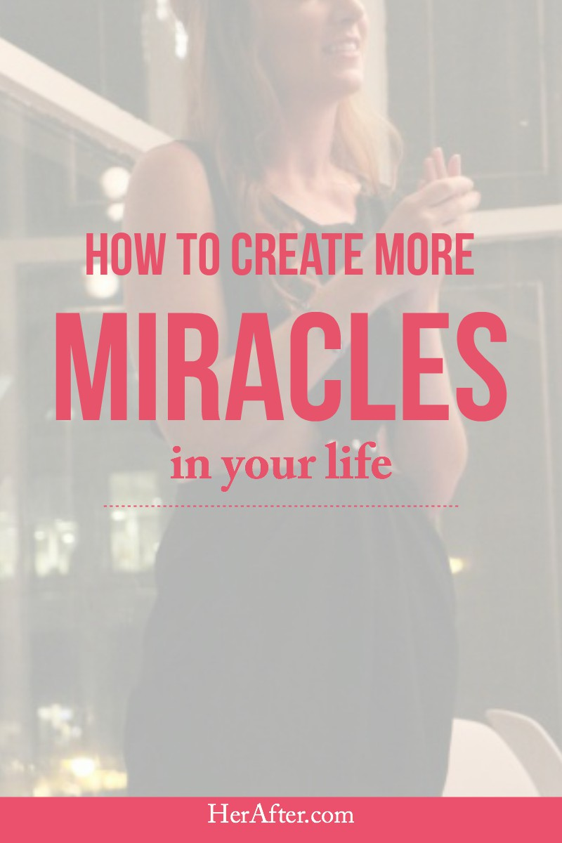 Create more miracles in your life with this incredible truth. Click to read full article!