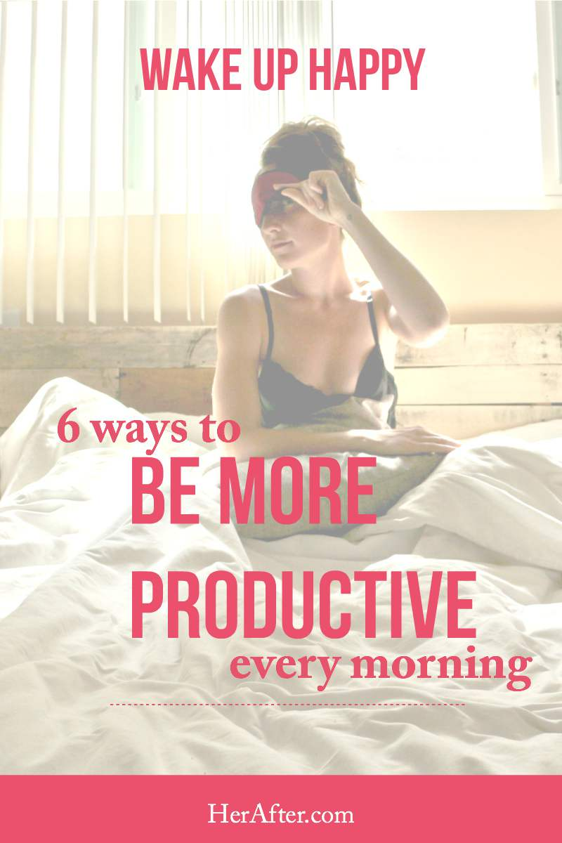 Make your morning more productive with these simple tips! Click through to read!