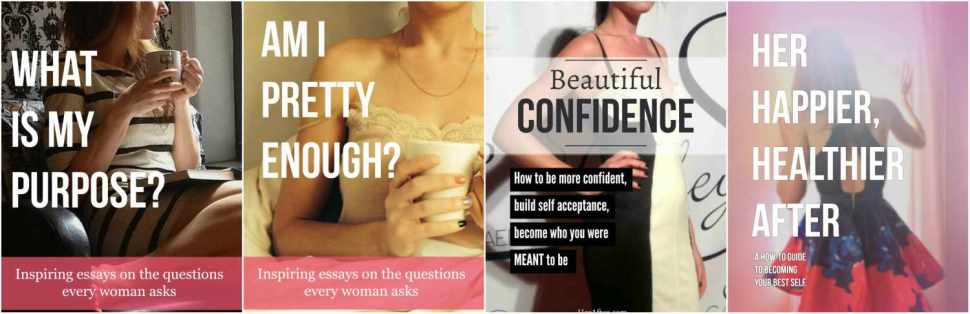 Inspiring and motivational ebooks for women. Click to shop!