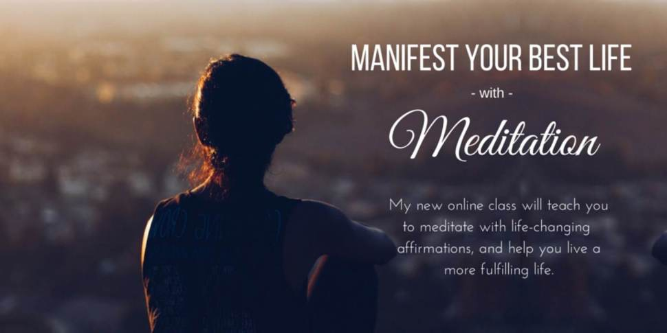 Learn to meditate online with this new class from HerAfter! Meditation is a simple tool to help you be happier and healthier. Click to learn how to meditate!